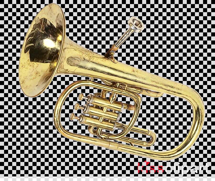 brass instrument musical instrument wind instrument alto horn cornet