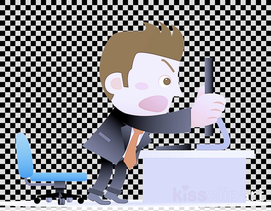 cartoon clip art job