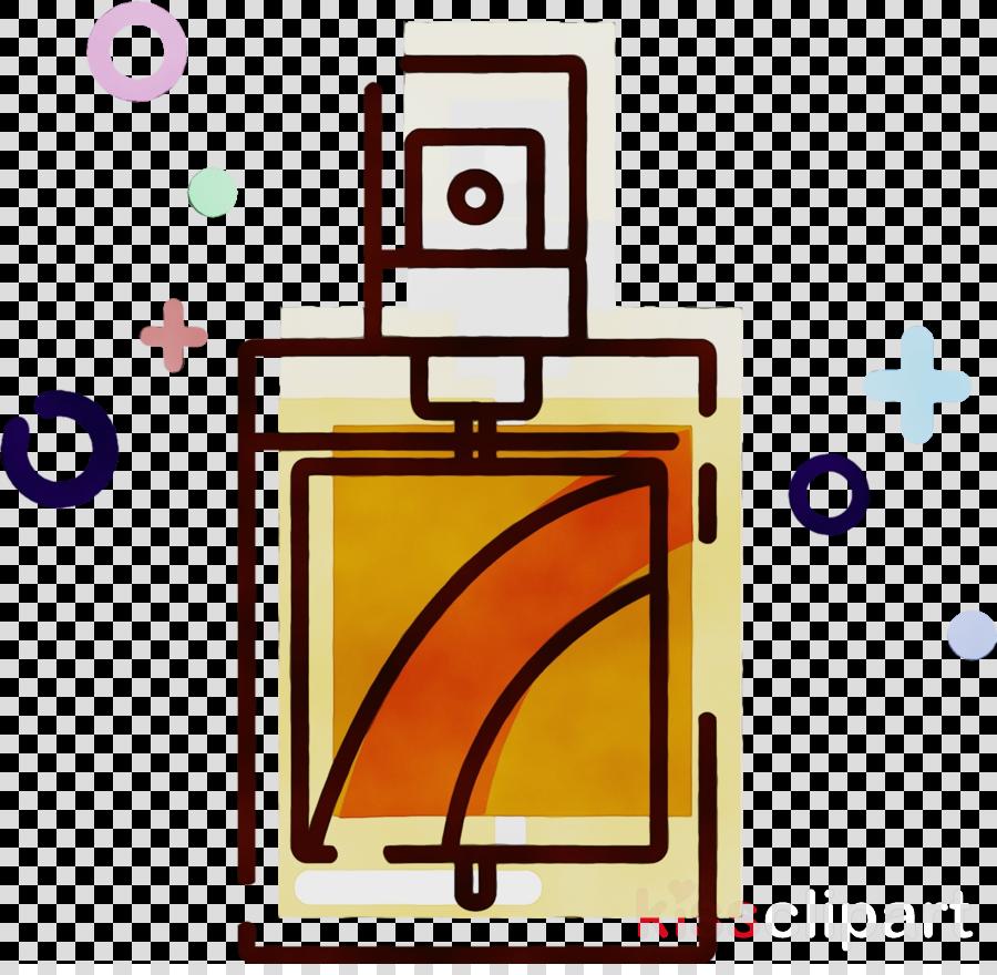 clip art line perfume rectangle