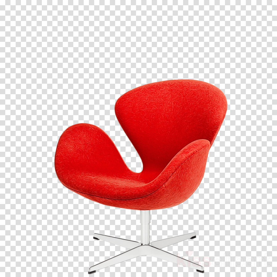 chair red furniture office chair