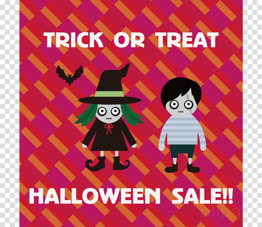 Trick or Treat Halloween Sale Promotion