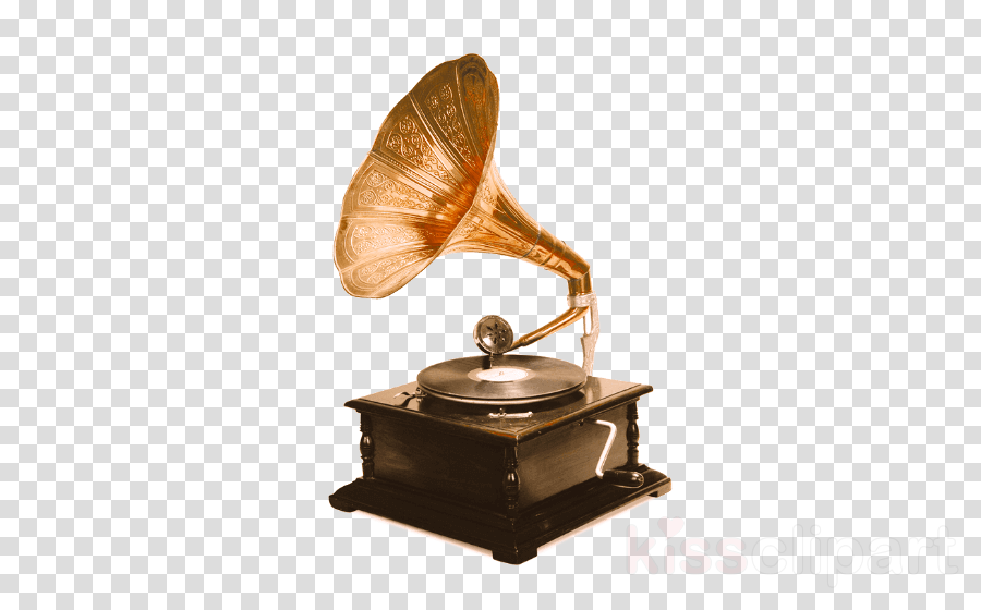 gramophone record antique metal
