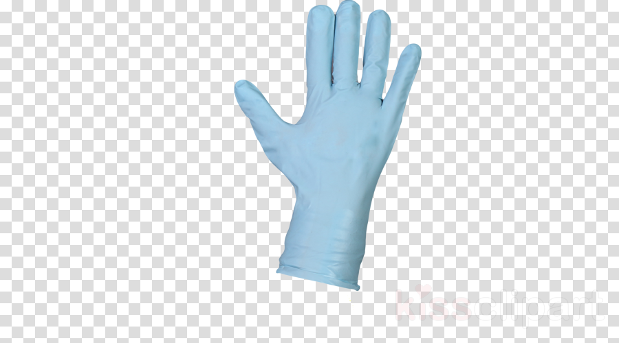 glove safety glove personal protective equipment blue hand