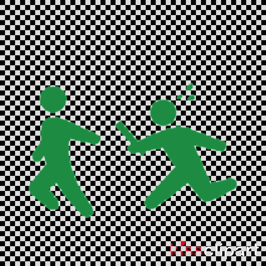green playing sports icon logo symbol