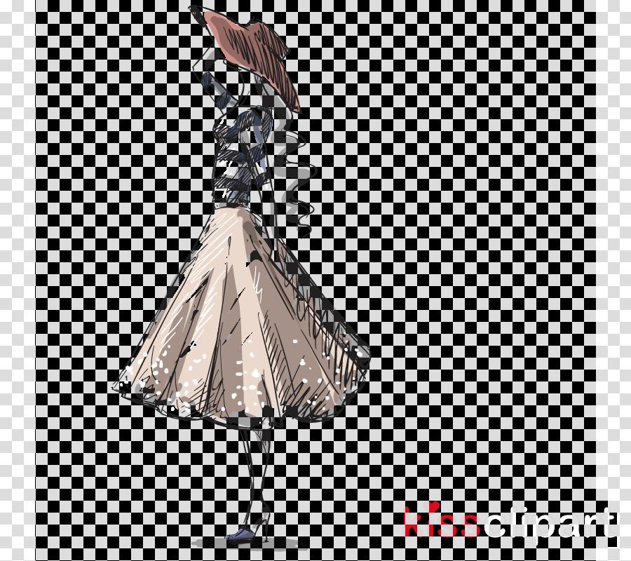Costume Design Dress Drawing Fashion Sketch Clipart Costume Design Dress Drawing Transparent Clip Art