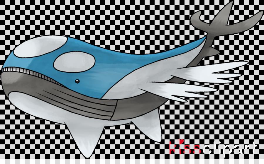 cartoon fish blue whale fish