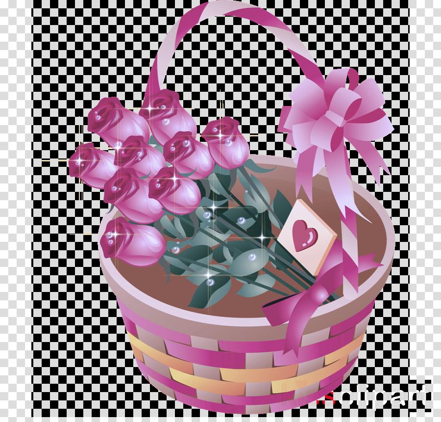 pink gift basket flower girl basket basket flowerpot