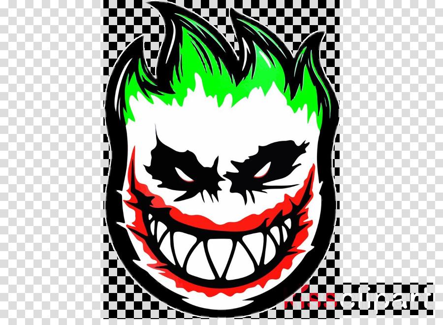 Joker Clipart Head Mouth Smile Transparent Clip Art