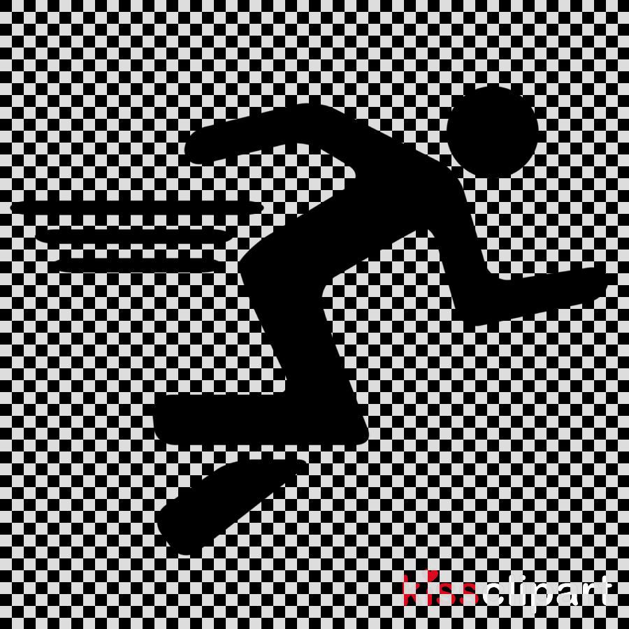 logo line jumping font symbol