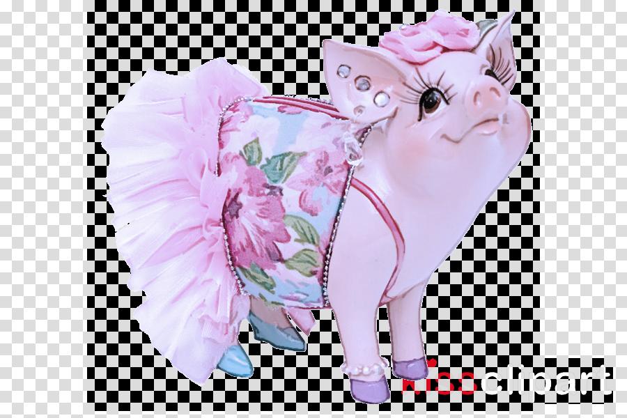 pink cat plant kitten flower