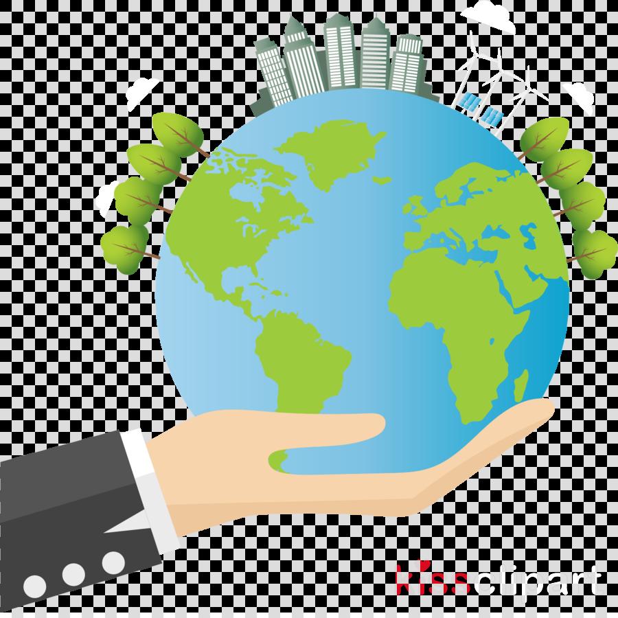 world globe earth hand technology