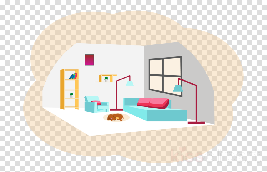 House Room Real Estate Home Interior Design Clipart House