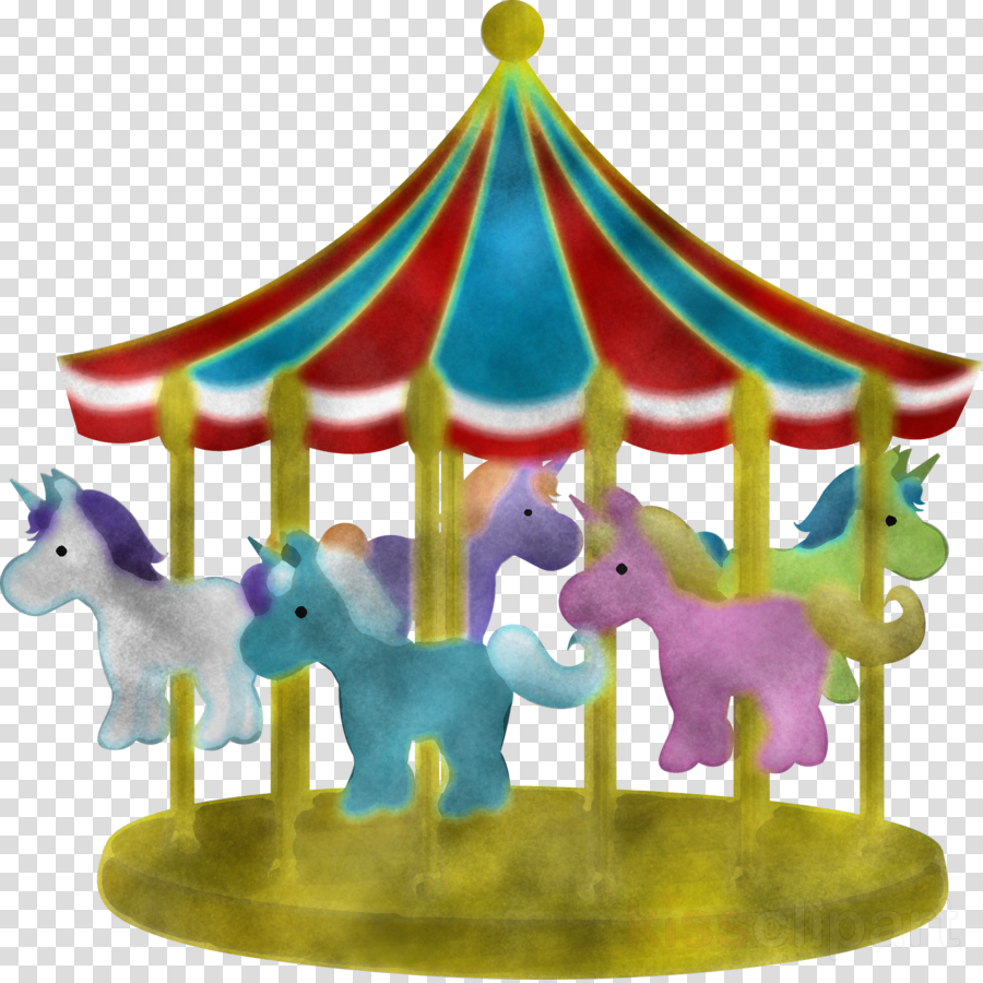 carousel amusement ride amusement park animal figure playset