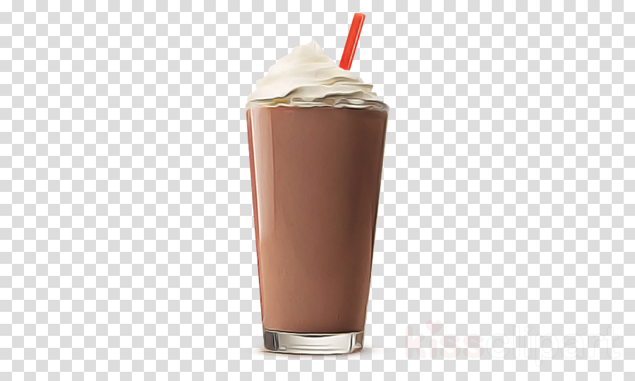 Chocolate Milk Clipart Drink Milkshake Nonalcoholic Beverage Transparent Clip Art