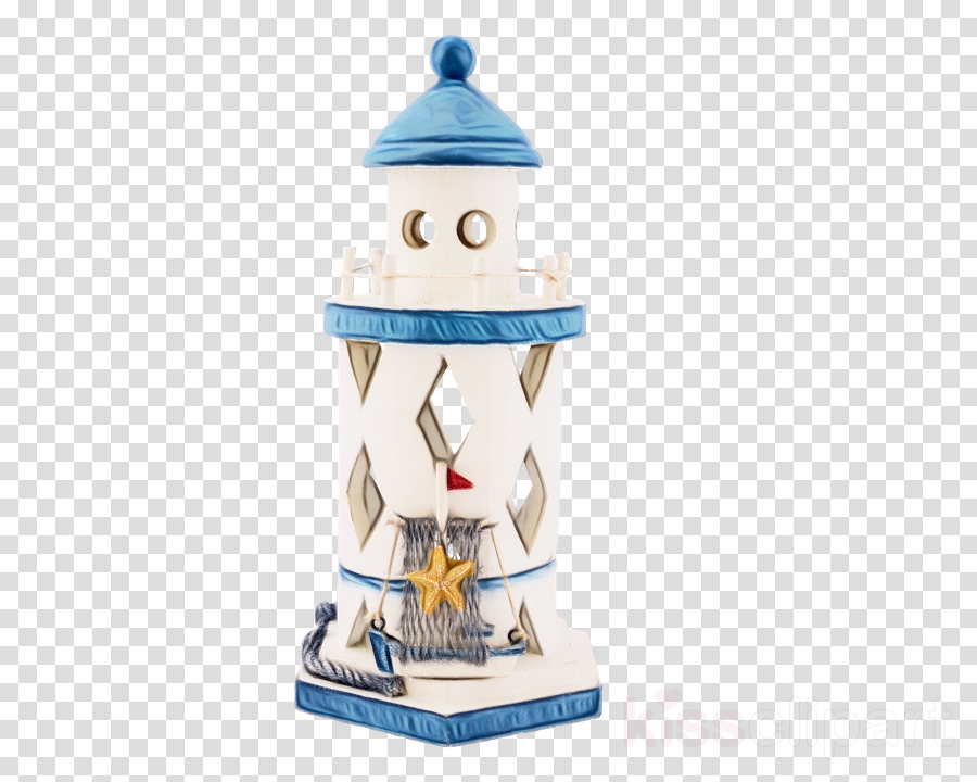 figurine lighthouse tower toy