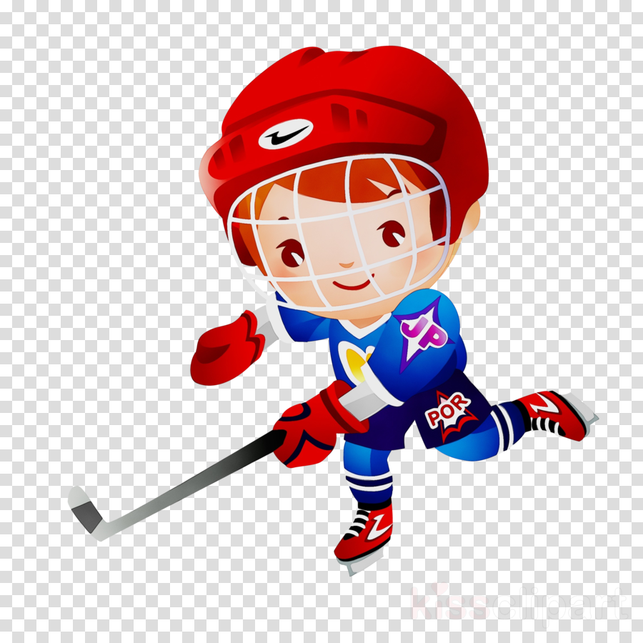 ice hockey equipment cartoon hockey stick and ball games team sport