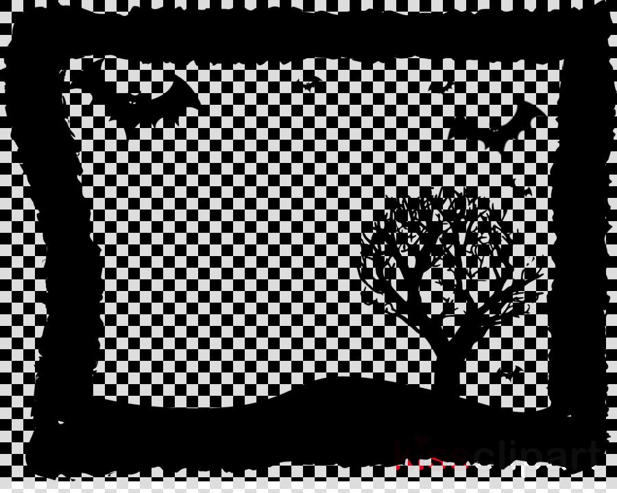 black tree black-and-white branch leaf