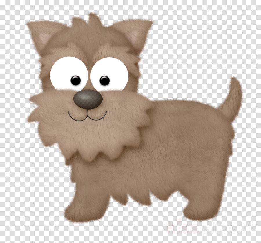dog cartoon animal figure norwich terrier cairn terrier