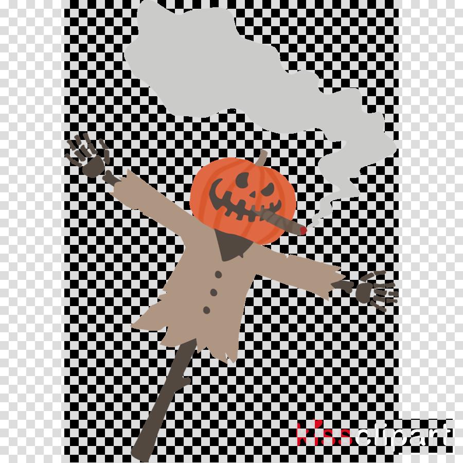 scarecrow Jack-o-Lantern Halloween