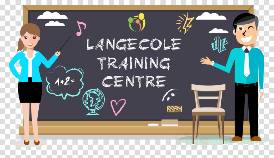 blackboard cartoon teacher professor room