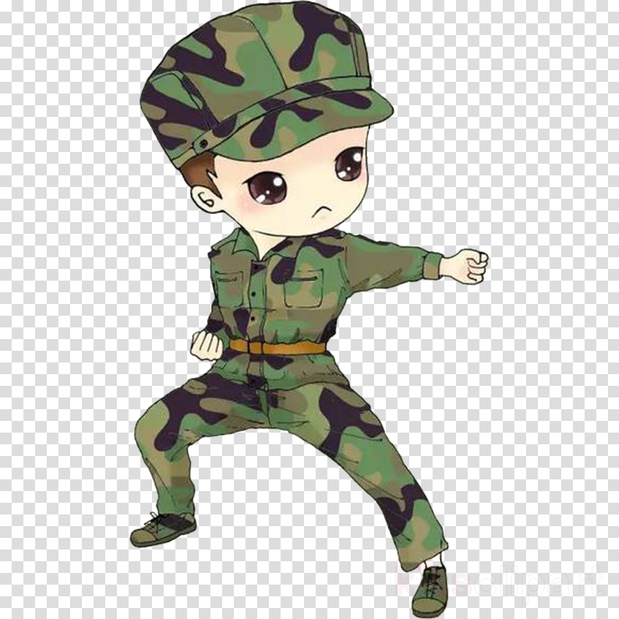 military camouflage camouflage cartoon soldier uniform