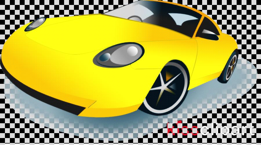 yellow vehicle car coupé sports car