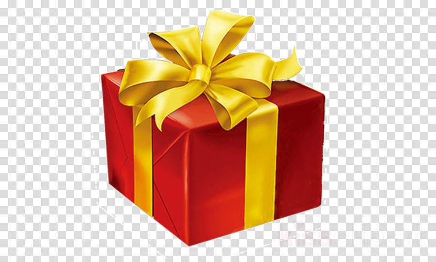 present ribbon yellow red gift wrapping clipart - Present, Ribbon, Yellow,  transparent clip art