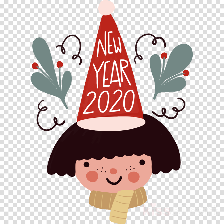 Happy New Year Clipart 2020 76