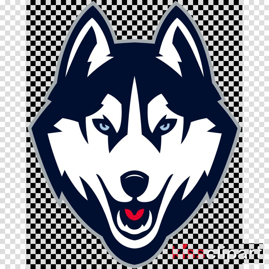 head dog snout logo siberian husky