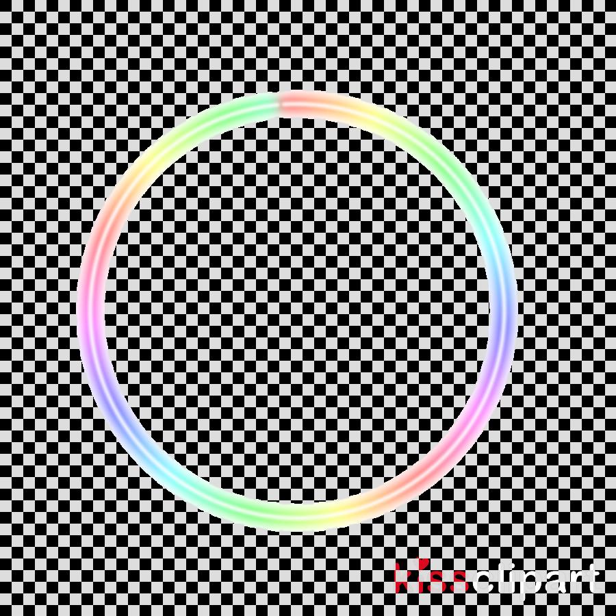 pink turquoise hula hoop circle bracelet