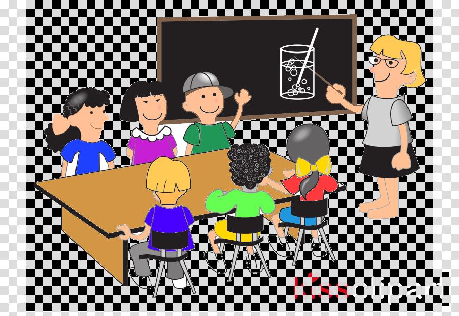 cartoon classroom education youth room