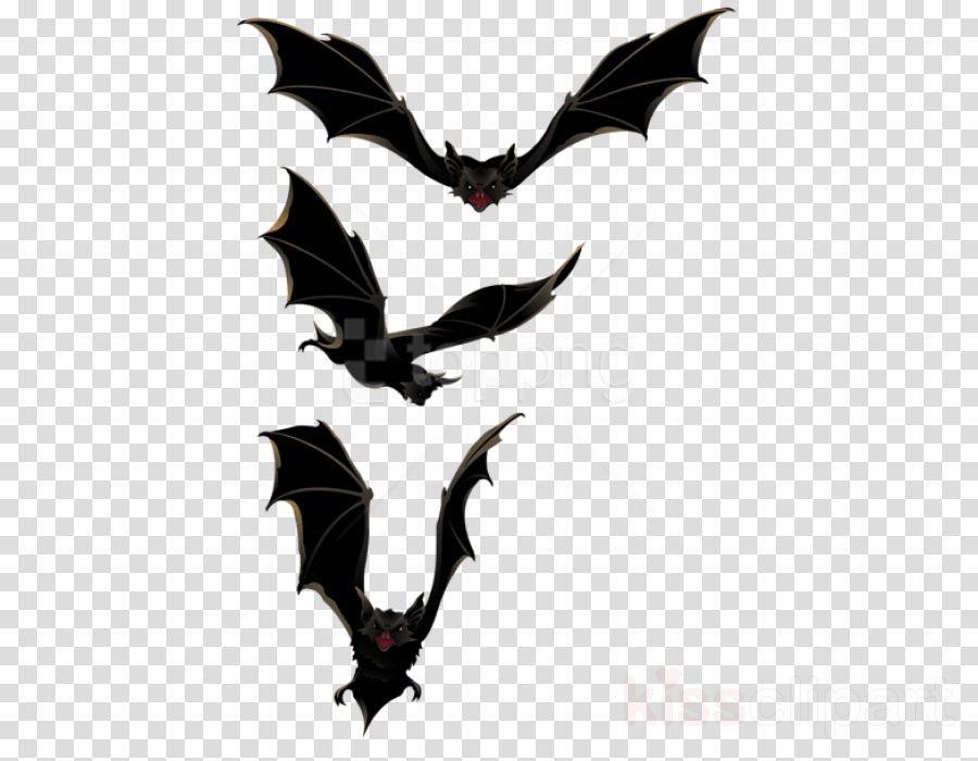bat wing black-and-white symbol