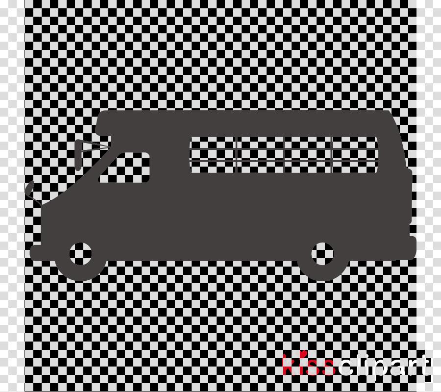 transport vehicle bus car font