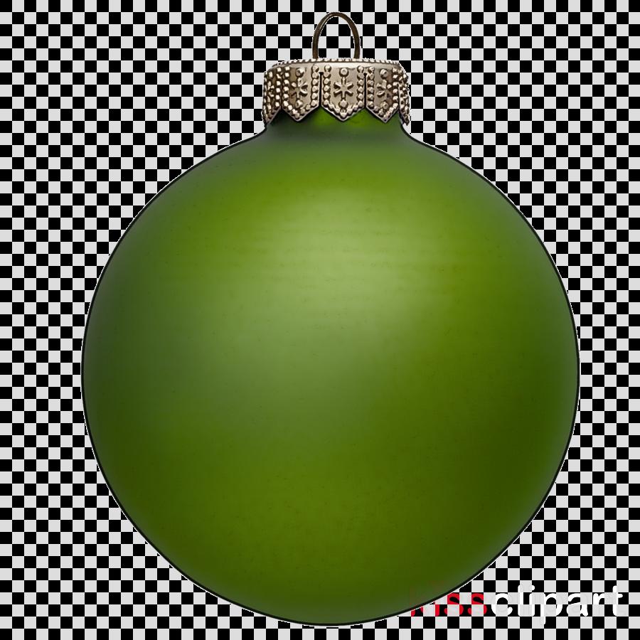 Christmas ornament clipart - Green, Christmas Ornament ...