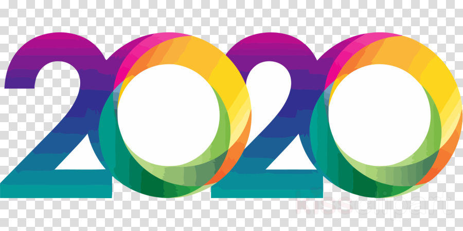 happy new year 2020 happy 2020 2020 clipart - Line, Circle ...