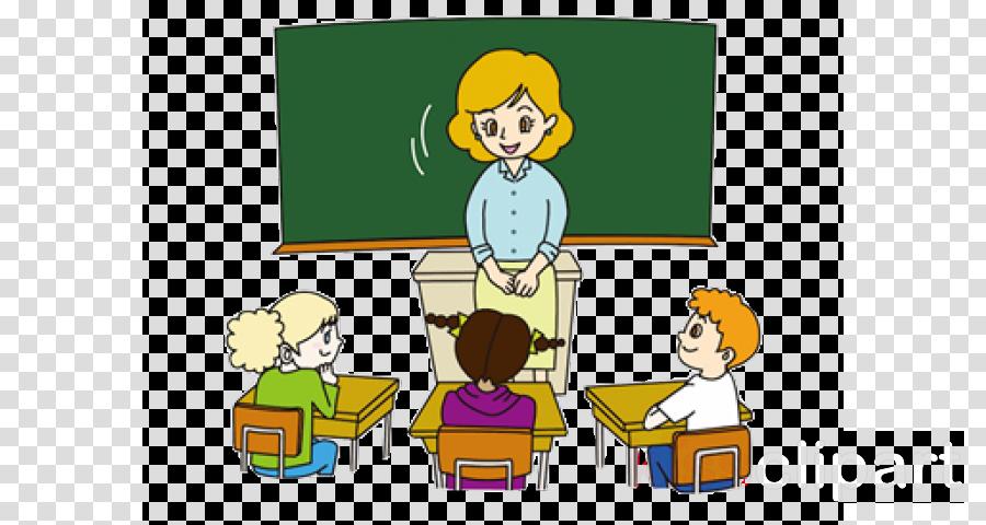 cartoon sharing classroom room learning