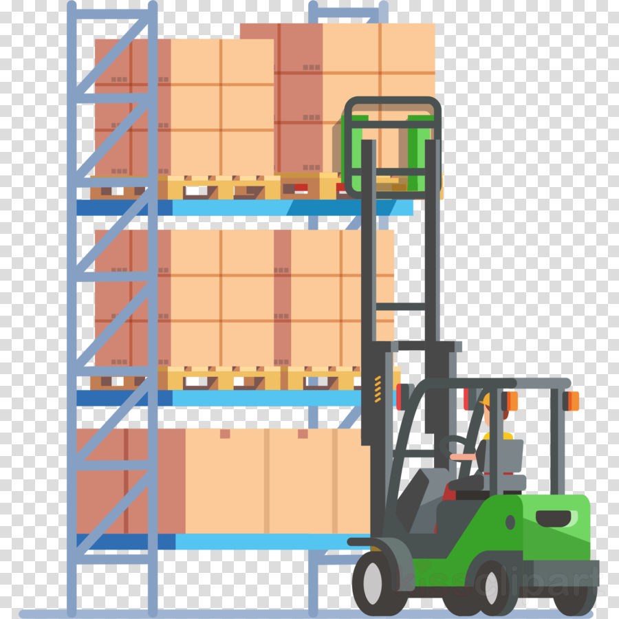 forklift truck toy playset