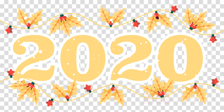 Happy New Year Clipart 2020 79