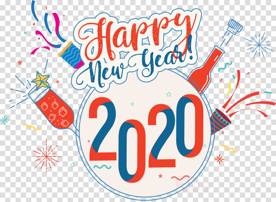 Happy New Year Clipart 2020 70