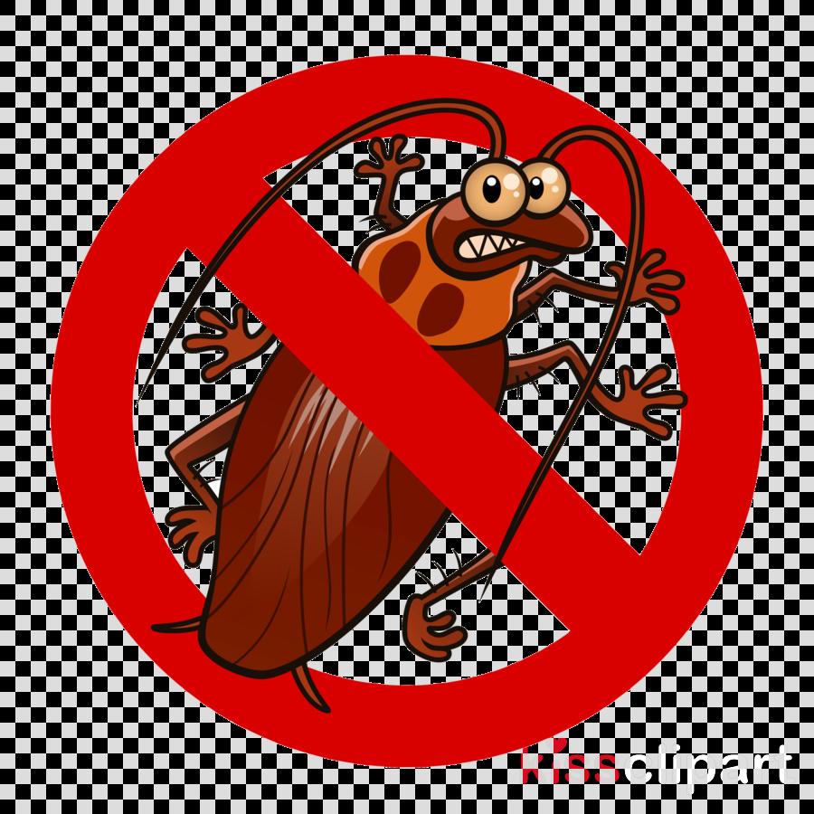 cartoon clock cockroach pest beaver