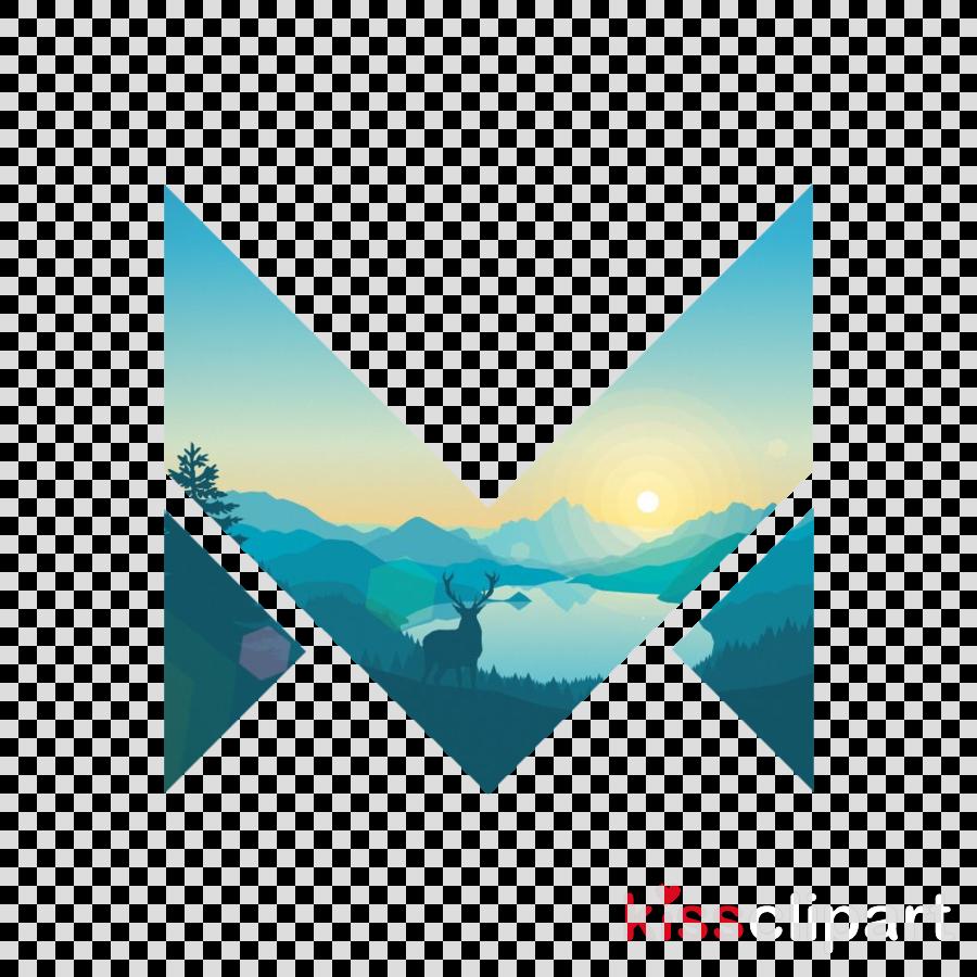 aqua turquoise teal sky triangle