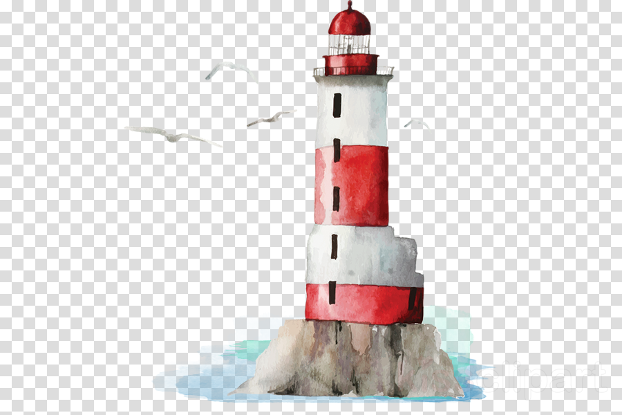 lighthouse tower beacon cake