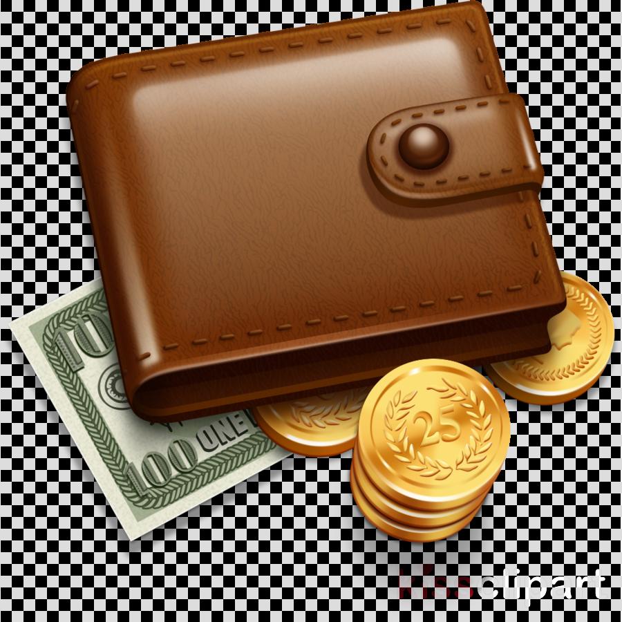 wallet coin purse money cash coin