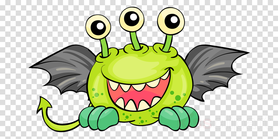 green cartoon mouth smile