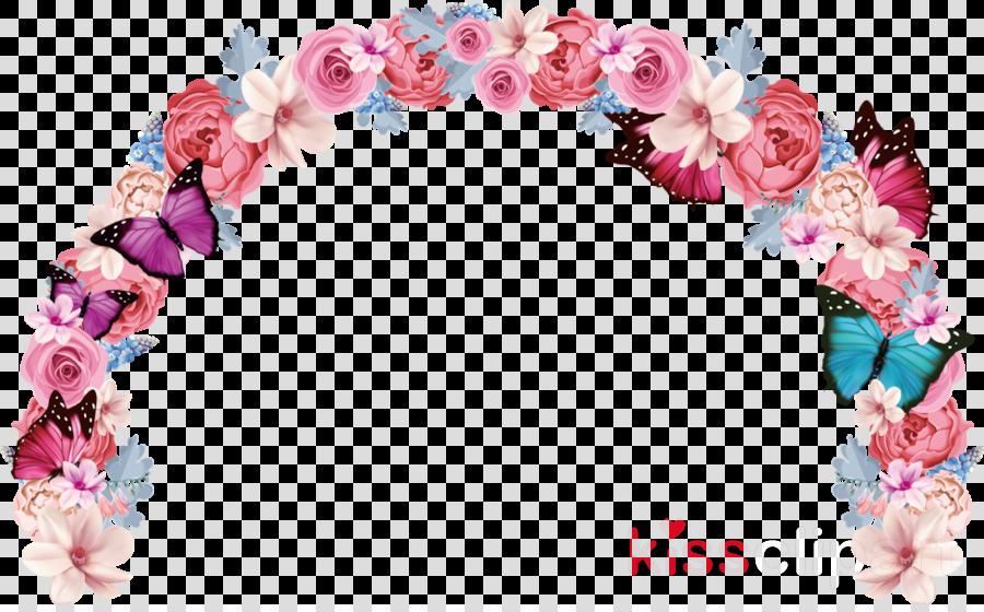 pink lei wreath