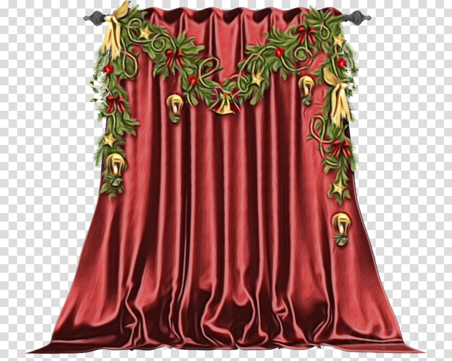curtain red clothing window treatment interior design