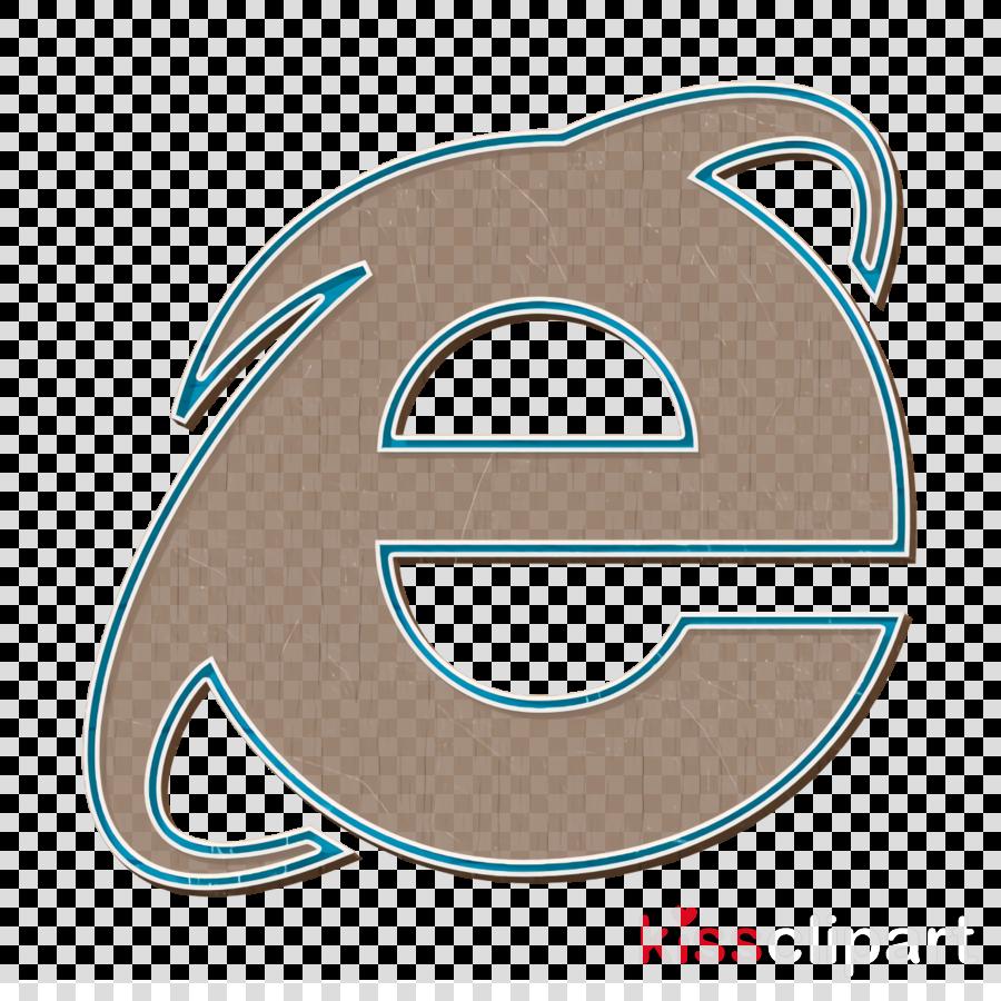 Browser Icon Internetexplorer Icon Line Icon Clipart Turquoise Symbol Number Transparent Clip Art
