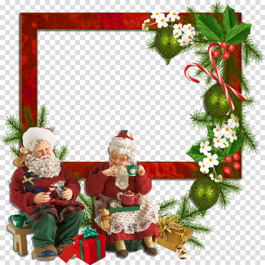 frame Christmas border Christmas decor