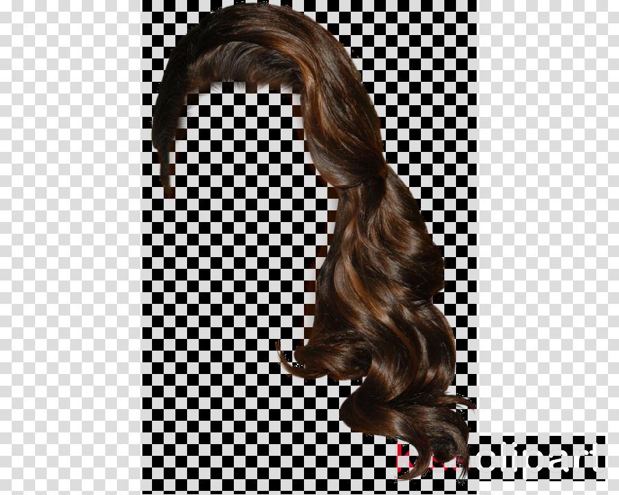hair wig hairstyle brown long hair