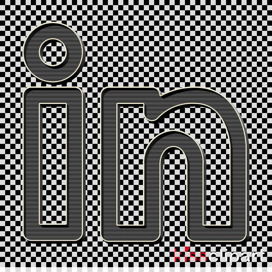 Linkedin Icon Media Icon Share Icon Clipart Text Symbol